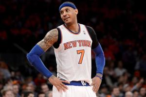 Gary Washburn voted for Carmelo Anthony based on his importance to the New York Knicks