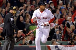 Xander Bogaerts during the ALCS vs. Detroit