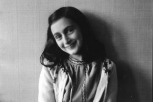 Anne Frank, in 1941. Her diary has sold over 35 million copies.
